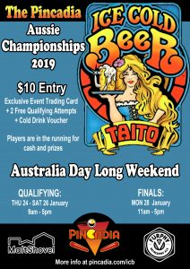 Ice Cold Beer Aussie Championships 2019 @ Pincadia