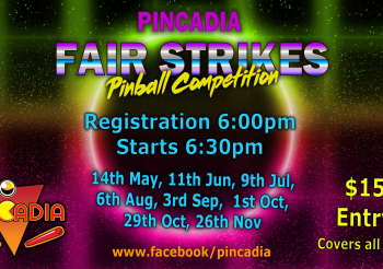 Pinball Fair Strikes – 14th May 2019